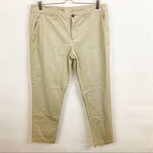Gap l Khaki Broken In Straight Leg Pants